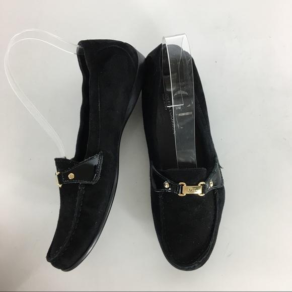 336b16e1831 Attilio Giusti Leombruni Shoes - AGL Black Suede Loafers